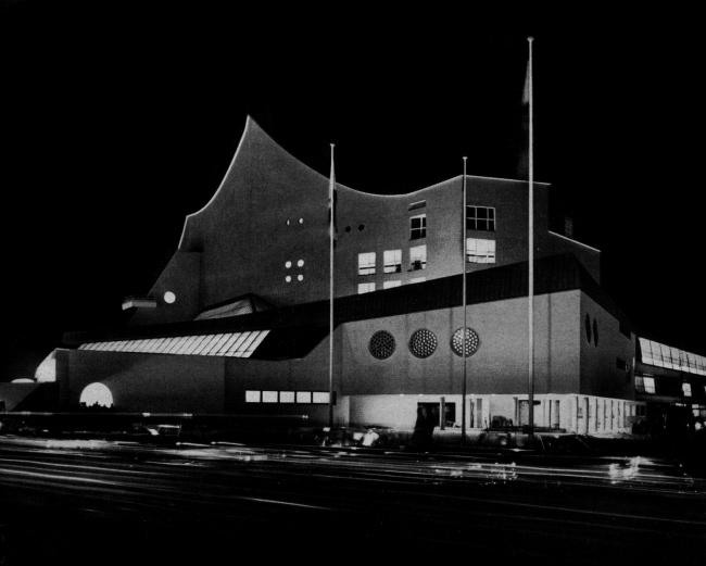 Ганс Шарун. Берлинская Филармония. 1963. Фото предоставлено Дмитрием Сухиным