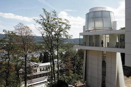 Музей Ханса Арпа. Башня с лифтовыми шахтами