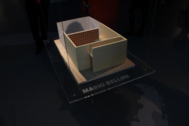 Макет павильона Марио Беллини. Фото © Инесса Ковалева