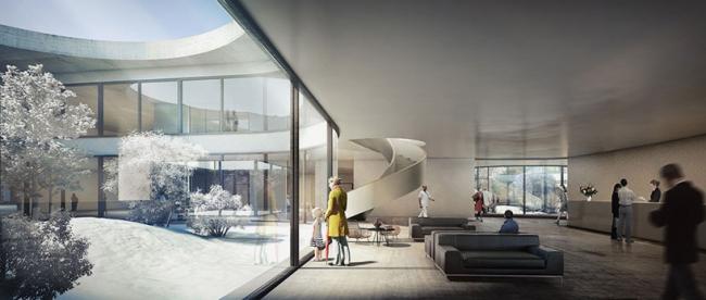 Новый госпиталь Северной Зеландии © Herzog & de Meuron