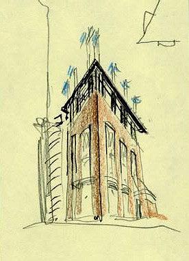 Офисное здание «Кристалбанка» на Новослободской улице © Алексей Бавыкин и партнёры