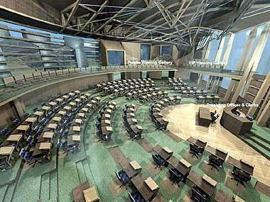 Новое здание парламента Шотландии