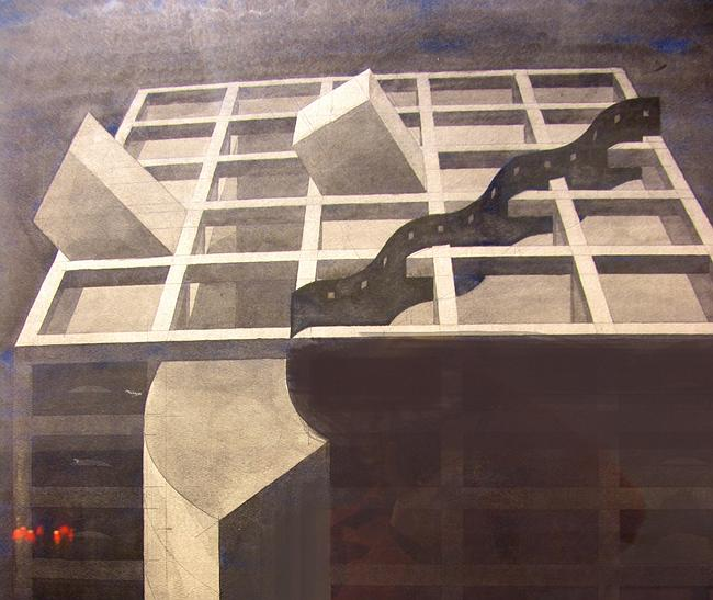 «Бастион сопротивления бастиону сопротивления». 1985