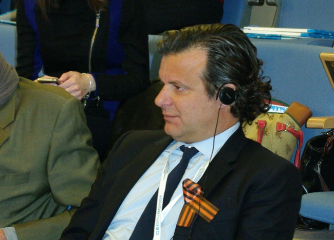 Рикардо Бофилл на объявлении результатов конкурса 25 апреля. Фотография А.Павликовой