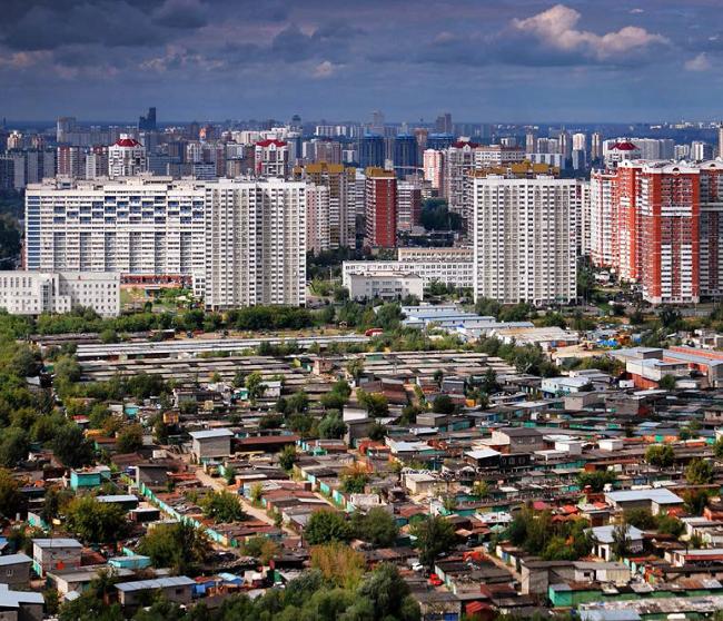 «Шанхай-Москва». Вид сверху. Из презентации Е.Мазиной. Источник: bochkarev-msc.livejournal.com/65986.html