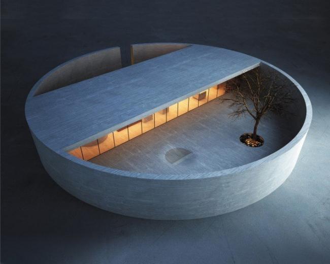 Дом-кольцо. The Ring House. Архитектурная мастерская MZ Architects