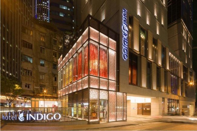 Отель «Индиго» в Гонконге. Компания Aedas