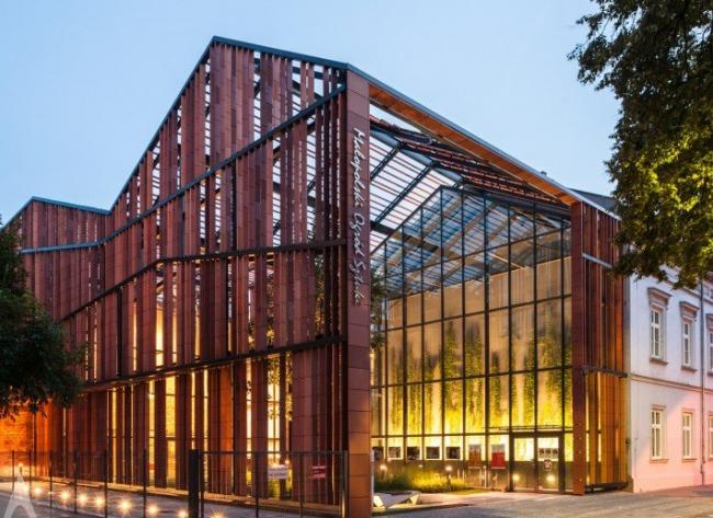 Центр искусств и медиатека в Малопольском воеводстве. Архитектурная компания Ingarden & Ewý Architects