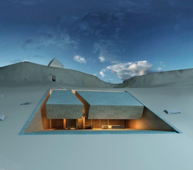 Дом для медитации. Архитектурная мастерская MZ Architects