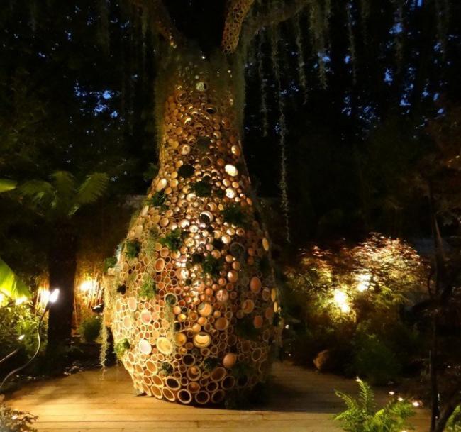 Сад «Баобаб». Amaury Gallon