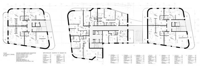 Проект жилого дома на Саввинской набережной. Ольга Кузнецова