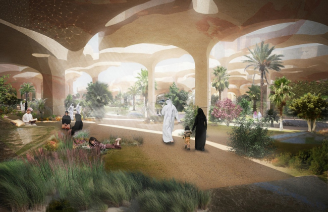 Парк Al Fayah © Heatherwick Studio