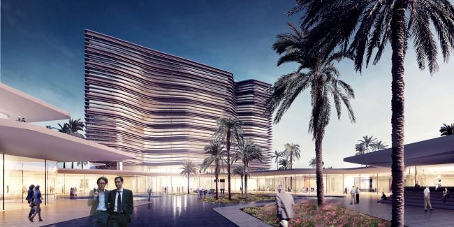 Центральный банк Ливии © Henning Larsen Architects