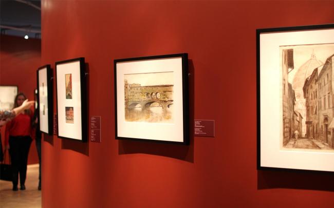 Зал графики XX века. Фотография Ю. Тарабариной