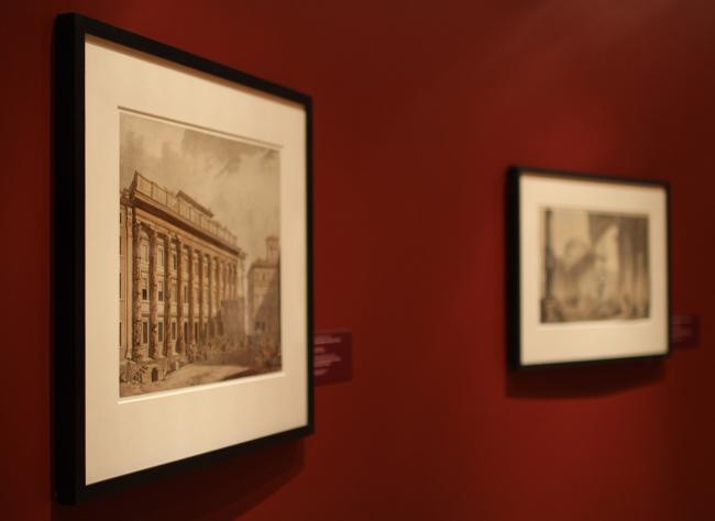 Зал «Расцвет архитектурного рисунка». Фотография Ю. Тарабариной