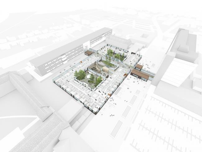 Госпиталь округа Венсюссель © C.F. Møller