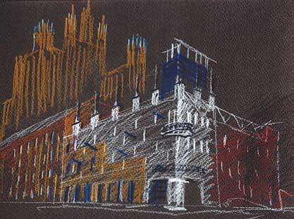 Реконструкция здания кинотеатра «Баррикады» © Алексей Бавыкин и партнёры