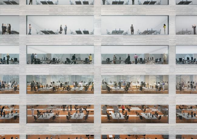 Штаб-квартира 2 медиа-компаний на Ближнем Востоке © REX