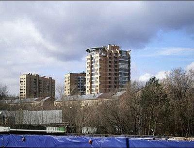 Жилой комплекс на улице Ферсмана © Алексей Бавыкин и партнёры