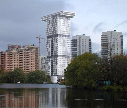 Проект торгово-промышленной палаты на ул. Академика Пилюгина © Алексей Бавыкин и партнёры