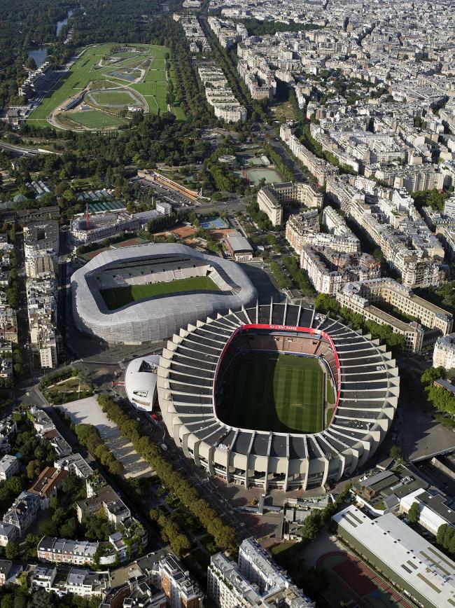 Стадион «Жан Буэн» © Air Images. Предоставлено Agence Rudy Ricciotti