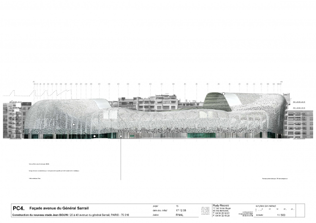 Стадион «Жан Буэн» © Rudy Ricciotti. Предоставлено Agence Rudy Ricciotti
