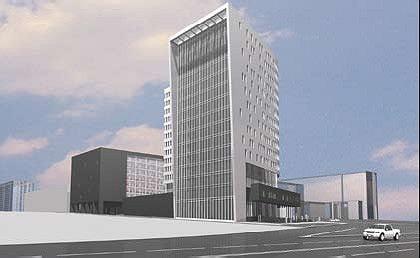 Проект многофункционального комплекса на улице Миклухо-Маклая © Алексей Бавыкин и партнёры