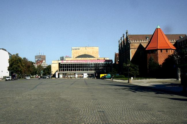 Площадь Тарг Венглевы до реконструкции © Grupa Gdyby