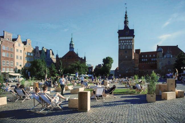 Реконструкция площади Тарг Венглевы © Bogna Kociumbas