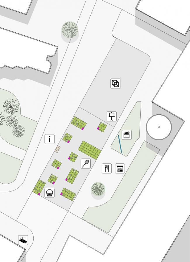 Реконструкция площади Тарг Венглевы © Grupa Gdyby