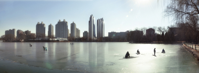 Комплекс Chaoyang Park Plaza © MAD