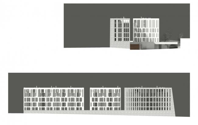 Жилой дом (апартаменты) класса de luxe © Сергей Скуратов ARCHITECTS