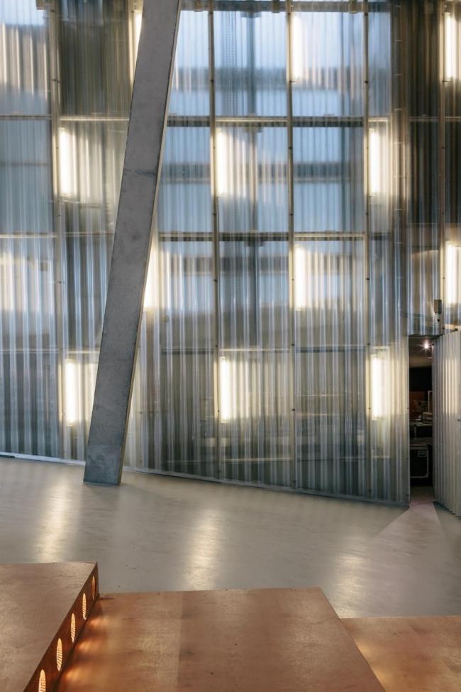 Выставочный зал Кунстхал. После реконструкции 2013 года © OMA