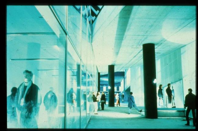 Выставочный зал Кунстхал © OMA