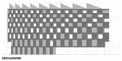 Галерея Ривингтон Плейс. Восточный фасад © Adjaye Associates