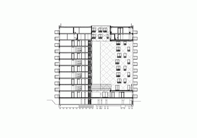 Жилой комплекс Parkrand © MVRDV