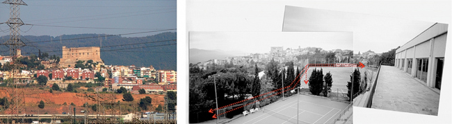 Реконструкция муниципального спортивного комплекса в Эль Папийол. Квартал окружен автомобильными дорогами. Фрагмент презентации Никола Рагуши