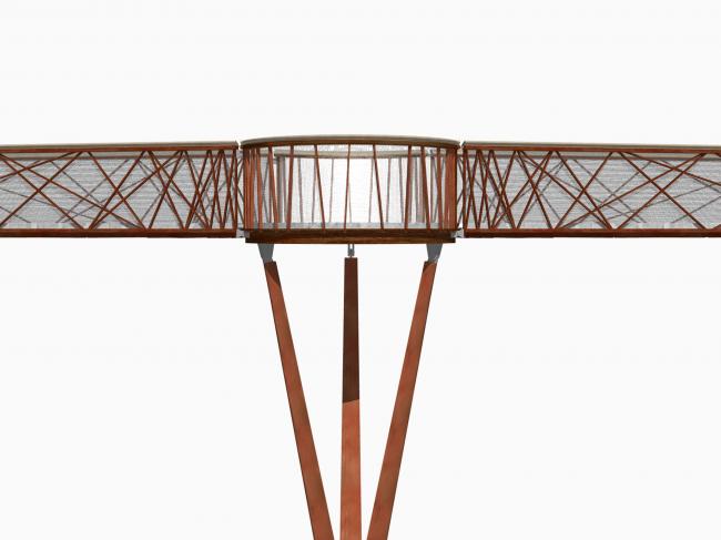 Мостик Xstrata © Marks Barfield Architects