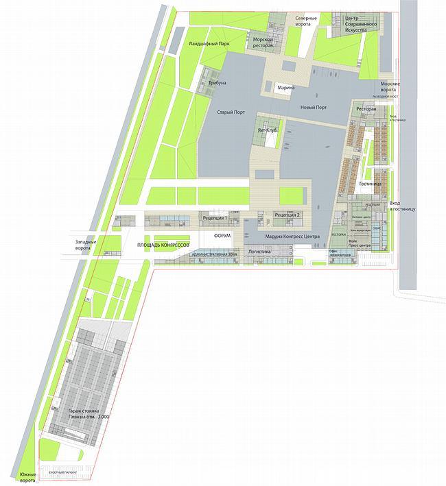 Генплан и план этажа
