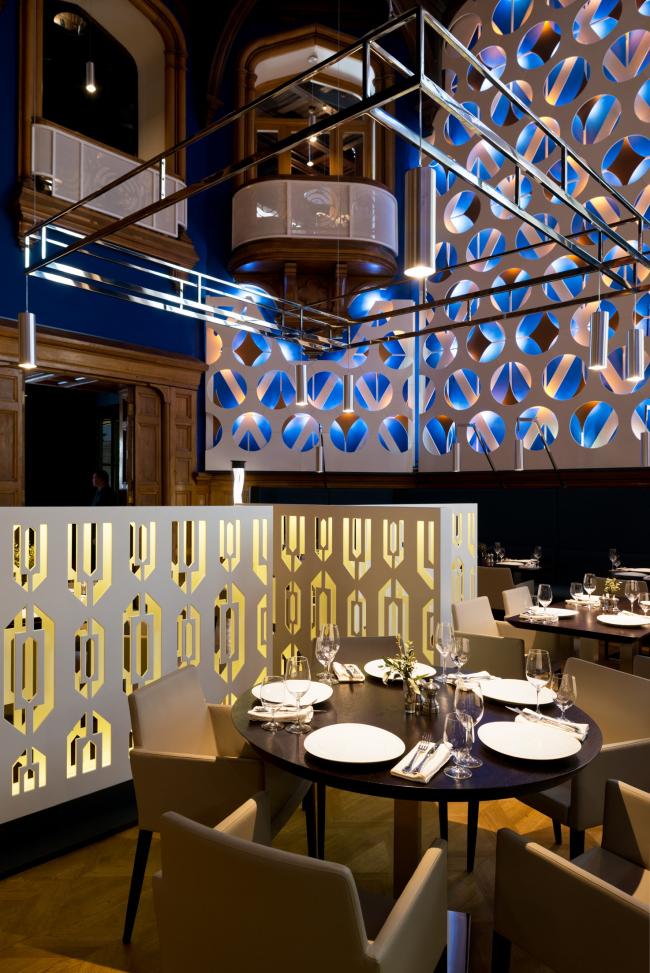 Реконструкция ресторана Центрального дома литераторов © WOWHAUS