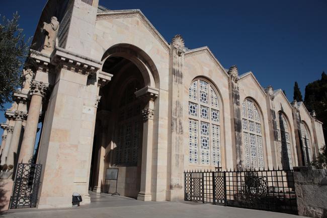 Церковь Всех наций. Вид сбоку. Фотография Л.К. Масиеля Санчеса