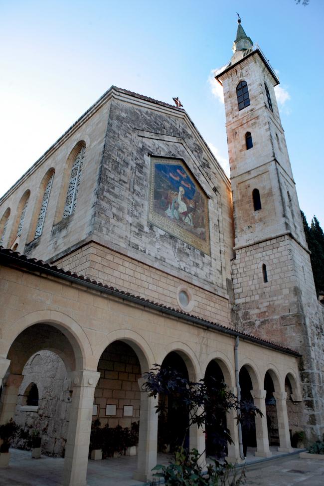 Церковь в Айн-Кареме. Фотография Л.К. Масиеля Санчеса