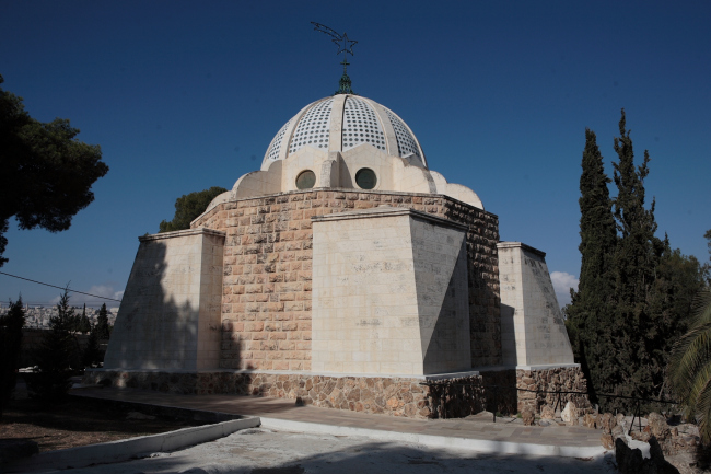 Храм ангелов на поле Пастушков в Бейт-Сахуре. Фотография Л.К. Масиеля Санчеса