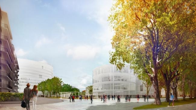 Новый кампус университета Луиджи Боккони © SANAA