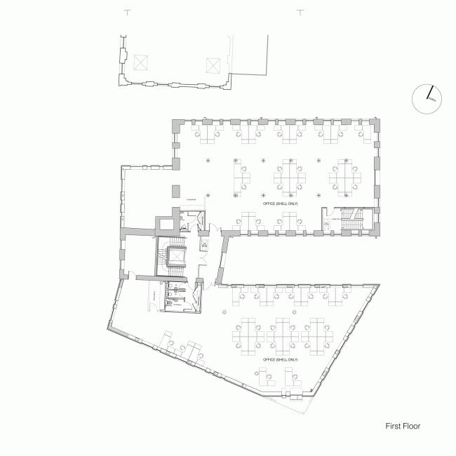 Реконструкция комплекса зернохранилища в Баркинге и Дагенеме © PTE Architects