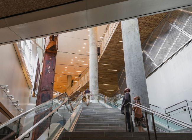 Павильон Национального мемориального музея 11 сентября © Jeff Goldberg / ESTO