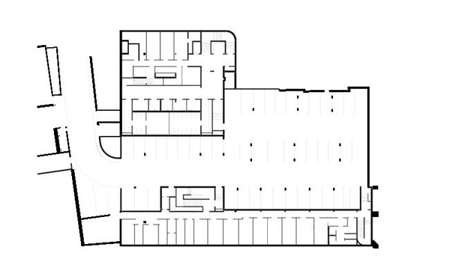 Евангелический образовательный центр Hospitalhof © Lederer Ragnarsdóttir Oei