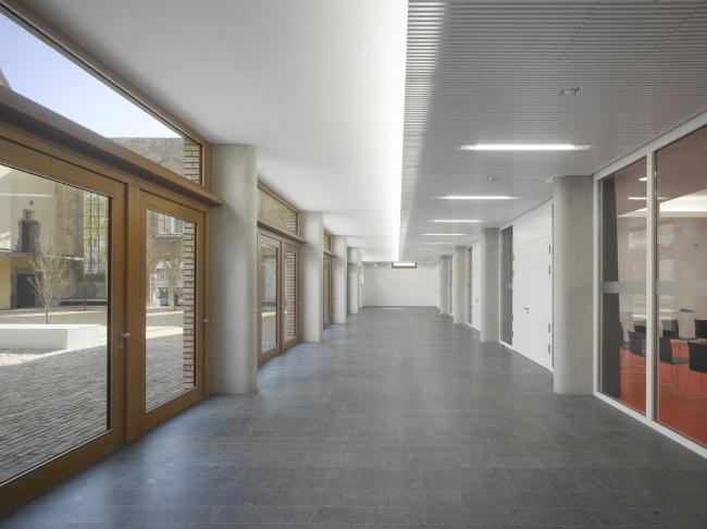 Евангелический образовательный центр Hospitalhof © Roland Halbe