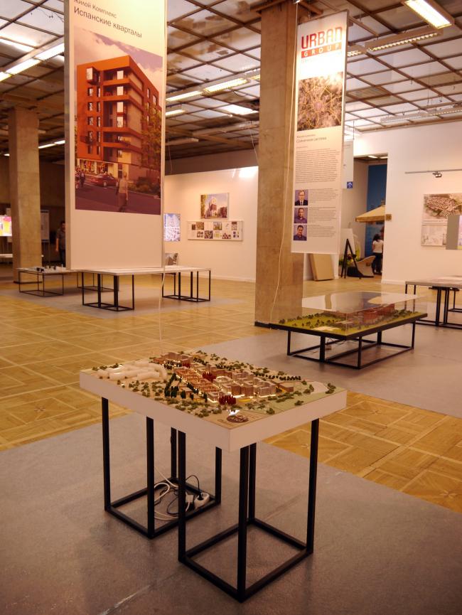 Экспозиция «Кварталы. Российский опыт». Фото А.Мартовицкой