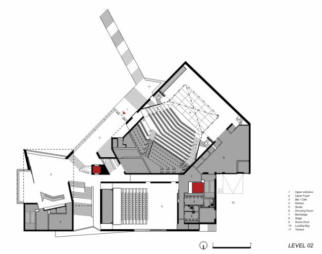Театр «Лирик» © O′Donnell & Tuomey